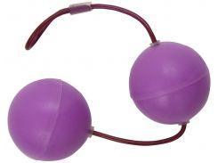 Trinity Vibes Вагинальные шарики Essensual Silicone Kegel Balls - Purple