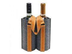 Войлочная сумка-чехол для двух бутылок BW-5-57
