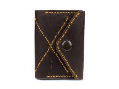 Тонкий кошелек-портмоне из натуральной кожи P-11-33
