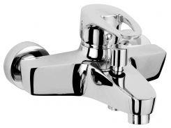 Смеситель для ванны однорычажный, хром 40мм ROZZY JENORI BOSS (RBZ077-3)
