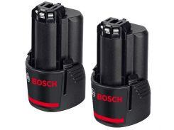 Литий ионные аккумуляторы Bosch 10.8 Li 2.0 Ah (2 шт) (1600Z00040)