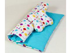 """Комплект одеяло и подушка в коляску """"Праздник"""""""