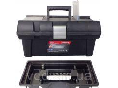 Ящик для інструментів  Haisser 16 Staff Semi Profi Alu 415*226*200 Haisser 90014 // Ящик для инструмента