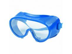 Окуляри захисні закриті з прямою вентиляцією, полікарбонат, СИБРТЕХ 89161 // Очки защитные