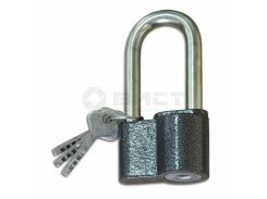 Замок навісний, дисковий, алюміній, ЗВСУ-5, d 10 мм 70-056 | навесной дисковый алюминий