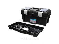 Ящик для інструментів пластмасовий 22 , металева защібка 550х255х255мм Berg 52-558 | инструментов пластмассовый металлическая защелку