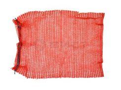 Сітка-мішок для пакування цибулі з зав'язкою, червона, 45х75см, до 30 кг 69-226   упаковки лука красная