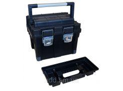 Ящик для інструментів пластмасовий 20 , металева защібка, 450x350x350мм Berg 52-560 | инструментов пластмассовый металлическая защелку