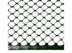 Сітка огороджувальна полімерна, 300 г/м2, вічко Сота 17х17, 1х50м VERANO 68-908   сетка o retea оградительная scrima полимерная polimer глазок ochiul