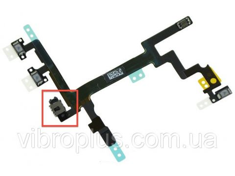 Шлейф Apple iPhone 5 with on/off button (Flat Cable) Винница