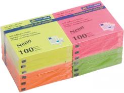 Блоки бумаги 76х76мм,100л с клейким слоем BM.2312-98