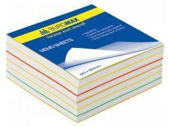 Блок бумаги для записей «Радуга» 90x90х500 л.BM.2244