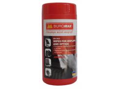Салфетки для очистки экранов BUROMAX (BM.0802)