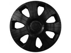 Автомобильные колпаки Kenguru Ultra R15 4 шт. Черные
