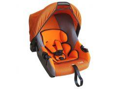Детское автокресло Siger Эгида Люкс группа 0+, до 13 кг Оранжево-серый (KRES0074)