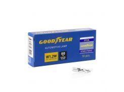 Лампа накаливания автомобильная Goodyear W1.2W 12V 1.2W W2x4.6d (коробка: 10 шт.)