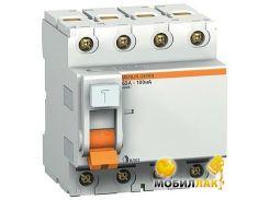Дифференциальный автоматический выключатель Schneider ВД63 4П 63A 100МA (11467)