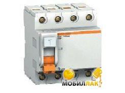 Дифференциальный автоматический выключатель Schneider Electric ВД63 4полюсное 63A C 30mA 11466