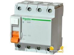 Дифференциальный автоматический выключатель Schneider ВД63 4П 63A 300МA (11468)