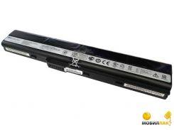 Аккумулятор PowerPlant для ноутбуков ASUS A32-K52 10.8V 5200mAh (NB00000043)