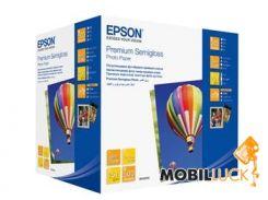 Бумага Epson 100mm x150mm Premium Semiglossy Photo Paper, 500л. (C13S042200)