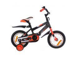 Велосипед Azimut Stitch 18 Графит-оранжевый
