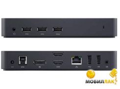 Порт-репликатор Dell USB 3.0 Ultra HD Triple Video Docking Station D3100 EUR (452-BBOT)