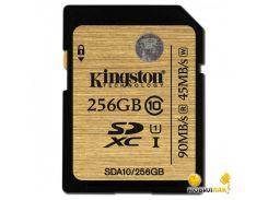 Карта памяти Kingston Ultimate SDHC 256GB Class 10 UHS-I (SDA10/256GB)