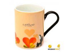 Кружка для кофе BergHoff Lover by Lover 0.2 л 2 шт. желтый 3800012