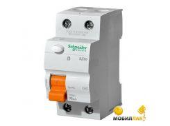 Дифференциальный автоматический выключатель Schneider ВД63 2П 63A 300МA (11456)