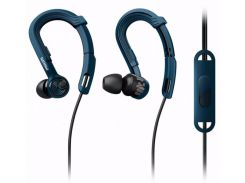 Наушники Philips ActionFit SHQ3405BL Mic Blue