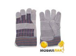 Перчатки замшевые комбинированные Intertool SP-0150W