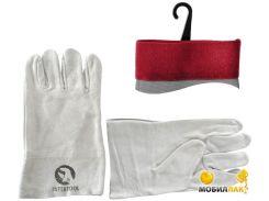 Перчатки замшевые (крага) 10.5 (SP-0015W)