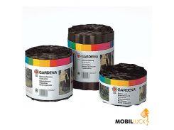 Бордюр для клумбы Gardena черный (00534-20)