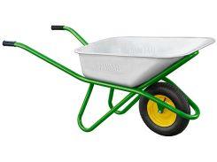 Тачка Palisad садово-строительная, усиленная, грузоподъемность 200 кг, объем 90 л (68918)