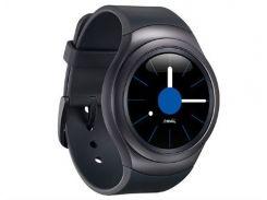 Смарт-часы Samsung R7200 ZKA Black Sport