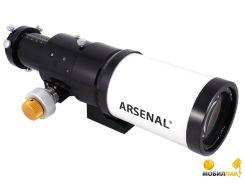 Труба оптическая Arsenal 70/420, ED-рефрактор (70ED AR) с кейсом