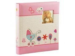 Альбом Henzo 290х330 Promoalbum Baby Moments Rose 100 White Pages 98.412.12