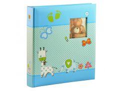 Альбом Henzo 280х305 Babyalbum Baby Moments Blue 98.405.07