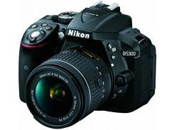 Цифровая зеркальная фотокамера Nikon D5300 + AF-P 18-55VR kit (VBA370K007)