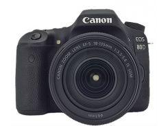 Цифровой фотоаппарат Canon EOS 80D 18-135 IS USM (1263C040AA)