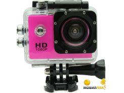 Экшн камера SJCam SJ4000 (розовый) (SJ4000-Pink)