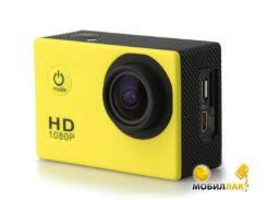 Экшн камера SJCam SJ4000 (желтый) (SJ4000-Yellow)