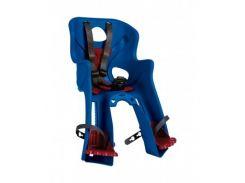 Сиденье переднее детское Bellelli Rabbit Handlefix до 15 кг Синее с красным