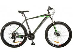 Велосипед 29 Optimabikes F-1 AM 14G HDD рама-21 Al серо-зеленый (м) 2017