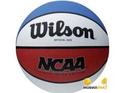 Мяч баскетбольный Wilson NCAA Retro SZ7 (X5315)
