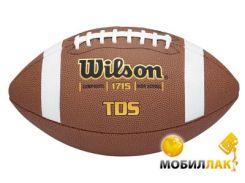 Мяч для американского футбола Wilson TDS Composite HS Pattern SS13 (WTF1715B)