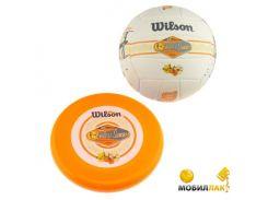 Мяч волейбольный c диском Wilson Endless sammer + летающий диск (WTX0522 kit)