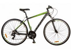Велосипед Leon 28 HD-85 AM 14G Vbr рама 19 Al (м) (2017) Серо-зеленый