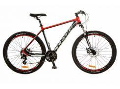 Велосипед Leon 27.5 XC-80 AM 14G DD рама 20 Al (м) (2017) Черно-красный